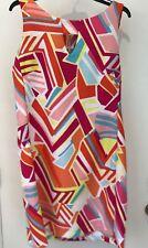 Ronni Nicole Multi color Womens Size 16 Textured Printed Sheath Dress NWT
