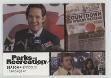 2013 Press Pass Parks and Recreation Seasons 1-4 #58 Campaign Ad Card 2a1