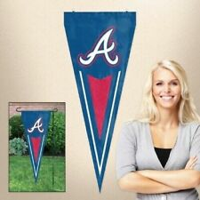 Atlanta Braves MLB Applique and Embroidered Vertical Pennant Flag