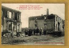 Cpa Vosges Nompatelize visite officielle aux ruines le Préfet tp0305