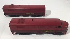 Vintage Weaver O scale Gauge Lehigh Valley model train Hard To Find