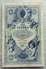 1 GULDEN Austria 1888 In perfatta condizione/XF