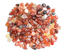100g Bulk Natural Tumbled Carnelian Small Size Reiki Healing Crystals Chips