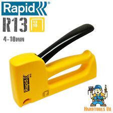 Rapid R13 Staple Gun / Tacker - Ergonomic 13 Series Stapler 4-10mm - Fineline