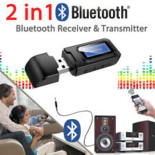 Wireless Bluetooth V5.0 3.5mm AUX USB Audio Stereo Music Car Receiver Adapter US