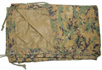 USMC Military MARPAT Woodland Digital REVERSIBLE FIELD TARP Tarpaulin 90x80 CIF