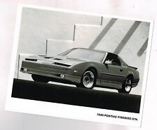 1990 Pontiac FIREBIRD Trans Am GTA Factory Press Kit Photo <frm brochure>