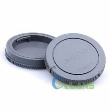 BrandNew Camera Body Front Cap + Lens Rear Cap For Sony E-Mount NEX-5 NEX-3 NEX