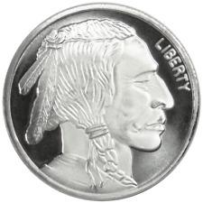 1 Troy oz Buffalo .999 Fine Silver Round