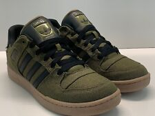 Adidas Bucktown ST HEMP Olive Green/Black w Gum Soles Sneakers Shoes AC6980 12