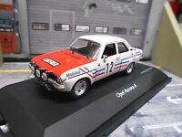 OPEL Ascona A Rallye 1973 #12 Greder Racing Mobil TdC Mobil Schuco 1:43