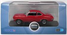 Oxford Diecast 1/43 Scale VF002 - Vauxhall Firenza 1800SL - Flamenco Red