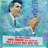 Jimmie Rodgers - When The Spirit Moves You LP VG+ R 25103 Vinyl 1958 Record