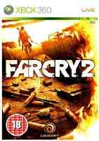 Xbox 360 - Far Cry 2 **New & Sealed** UK Stock | FarCry | Xbox One Compatible