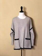 Tommy Hilfiger grey women's tunic sweater medium/large ** nwt **