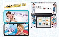 VIOLETTA - vinyl Skin Aufkleber für Nintendo NEW 2DS XL - réf 189