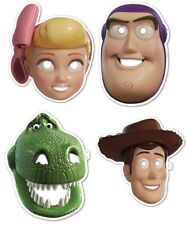 Disney Toy Story Birthday Party Supplies 8 Cardboard Masks Favour Loot Treat Bag