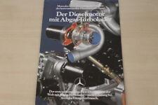 180983) Mercedes - Turbo Diesel 122PS - Prospekt 08/1979