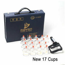 Hansol 17 Cups Cupping Set Slimming Massage Vacuum Therapy Pump Acupuncture