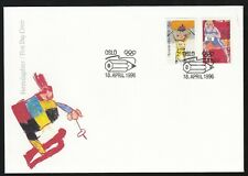 Norway 1996 Fdc Centenary Of Modern Olympic Games