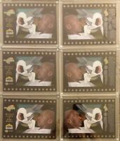 6x LOT 1996 Upper Deck Michael Jordan BugsBunny SpaceJam Celcard Limited Edtn NM
