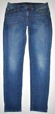 """Lucky Brand Women's Size 8/29 (W30"""" L29 3/4"""") Stretch Lolita Skinny Jeans Blue"""