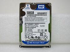 """WD Scorpio Blue 500GB 5400RPM 8MB Cache 2.5"""" SATA Desktop Hard Drive WD5000BPVT"""