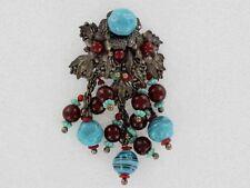 RARE Large Gorgeous Miriam Haskell Fur Clip (PN1150)