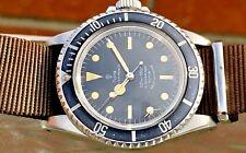 1966 Rolex Tudor Oyster Prince Submariner 7928 Gilt Rail Radial Dial Ghost Bezel