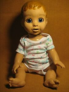 """Luvabella Doll Interactive Toy Model 22700 Spin Master 17""""  Works Reddish Blonde"""