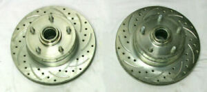 "Mustang II 11"" Big Disc Brake Rotors CHEVY 5 x 4.75 lug pattern street rod"
