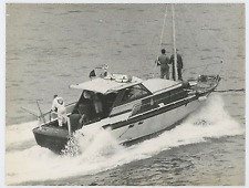 Italia, Genova, motoscafo a società di produzione di petrolio Vintage  Tirage