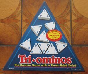 TRIOMINOS  by Pressman - 2015 - Complete & VGC