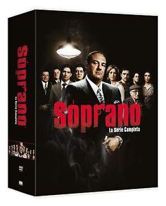 i SOPRANO - SERIE COMPLETA (28 DVD) COFANETTO UNICO, ITA., NUOVO