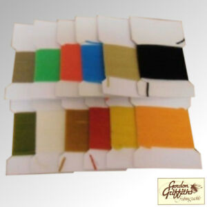 Gordon Griffiths Chenille Standard Pack of 12 Cards Mixed Colours (C)