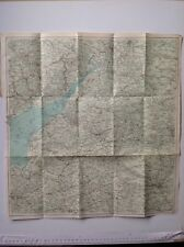 Salisbury Plan, River Severn, 1908,  Antique Map, Original