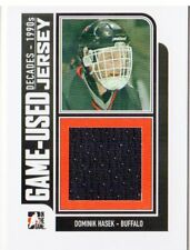 2013-14 ITG Decades 1990s Game Used Jerseys Black #M07 Dominik Hasek