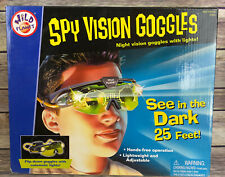 Spy Vision Goggles Vintage (1999) 25ft Night Vision New