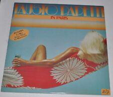 FAUSTO PAPETTI In Paris LP Record Sexy Cheesecake Cover