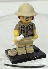 LEGO Series 15 71008 Collectible Mini Figure of PALEONTOLOGIST~