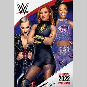 WWE Women Wrestling 2022 A3 Wall Calendar