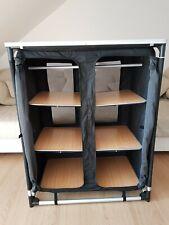 Campingschrank - Campingküche - faltbar - 6 Fächer - Belüftung - Insektenschutz