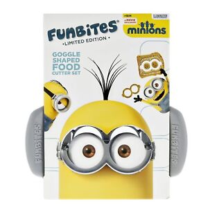Minions Funbites Limited Edition Goggle Shaped Food Cutter Set
