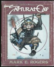 THE ADVENTURES OF SAMURAI CAT LIMITED HC SIGNED MARK E ROGERS # 222 1984