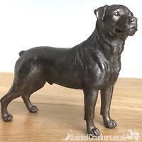 Beauchamp Bronze Rottweiler sculpture ornament figurine statue collectable gift