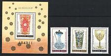 Two In One - Hungary 1980. Stampday Set + Sheet Garniture Mnh (*)