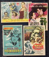 España Cine Programas de Mano (EA-519)