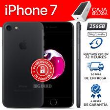 Nuevo APPLE iPhone 7 256GB Negro Mate Desbloqueado de Fábrica 4G Celular