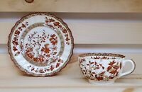 Copeland Spode England India Tree Tea Cup and Saucer Set Vintage Floral