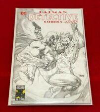 DETECTIVE COMICS 1000 JIM LEE EXCLUSIVE B&W SKETCH BATMAN JOKER VARIANT
